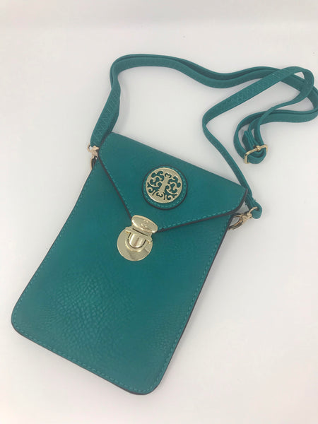 Cross Body Teal purse