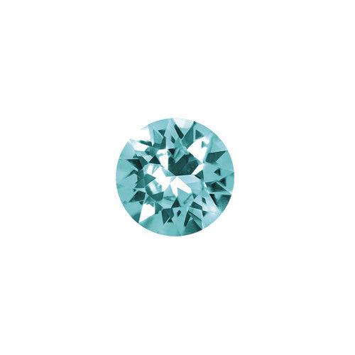 DECEMBER CRYSTAL BIRTHSTONE CHARM - BLUE ZIRCON - Statelight