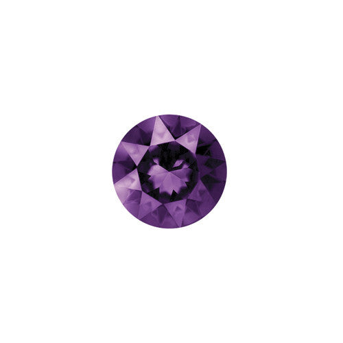 FEBRUARY CRYSTAL BIRTHSTONE CHARM - AMETHYST - Statelight