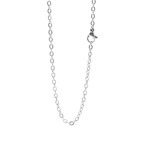 "STAINLESS STEEL 20"" SILVER CHAIN - Statelight"