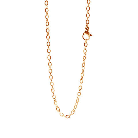 "STAINLESS STEEL 20"" ROSE GOLD CHAIN - Statelight"