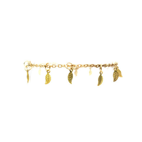 HOLLY FALLEN LEAVES ANKLET - Statelight
