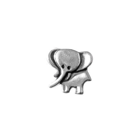 SILVER ELEPHANT CHARM - Statelight