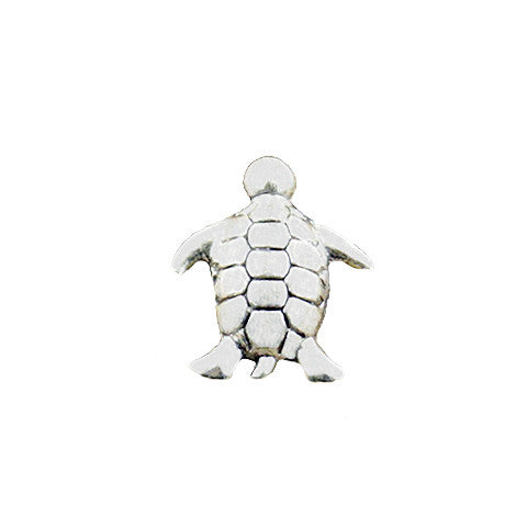SILVER SEA TURTLE CHARM - Statelight