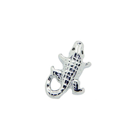 SILVER ALLIGATOR CHARM - Statelight