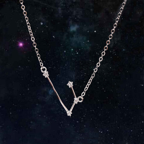 ARIES CELESTIAL NECKLACE in 925 Silver - Statelight