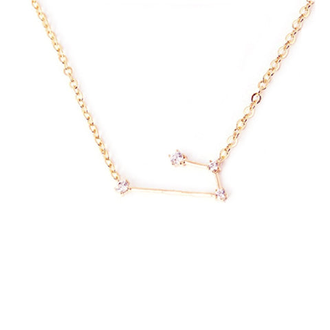 ARIES CELESTIAL ROSE GOLD NECKLACE - Statelight