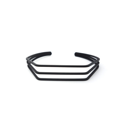 TANA TRIO MATT BLACK CUFF - Statelight