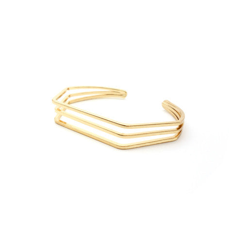 TANA TRIO GOLD CUFF - Statelight