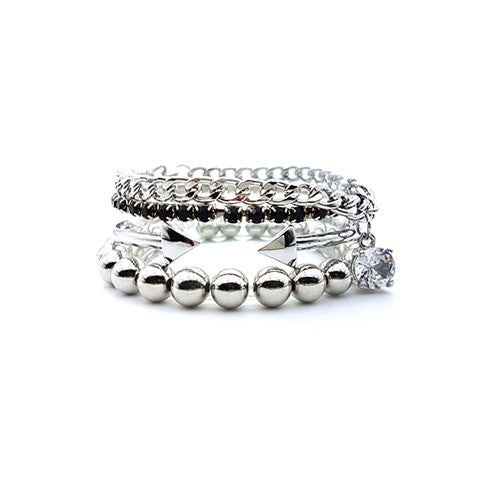 MARA SPARKLE BANGLE SET - Statelight