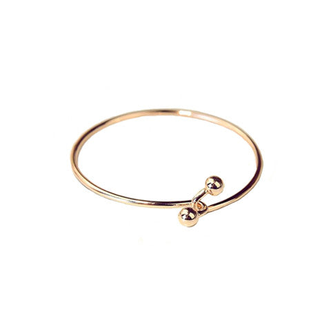 EVIE CLASP ROSE GOLD BANGLE - Statelight