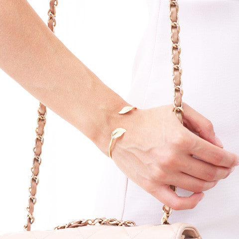 IVY LEAF BANGLE CUFF - Statelight