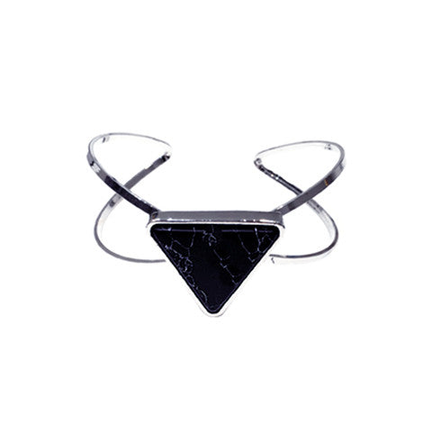 TAYLOR ONYX MARBLE CUFF - Statelight