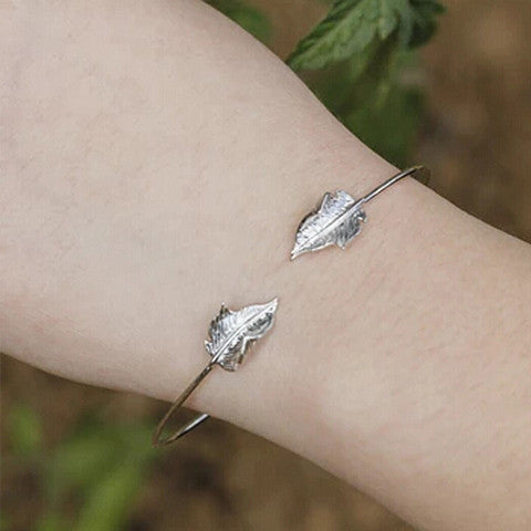FREYA LEAF BANGLE - Statelight