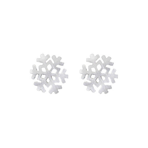 CHRISTABEL SNOWFLAKE EAR STUDS (Limited Edition) - Statelight