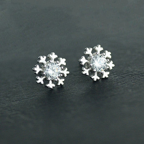 NOEL RHINESTONE EAR STUDS (Limited Edition) - Statelight