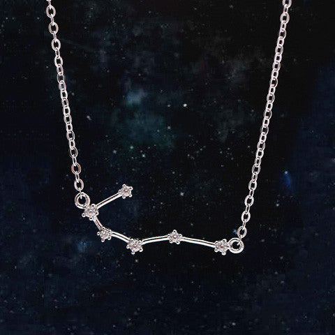 CANCER CELESTIAL NECKLACE in 925 Silver - Statelight