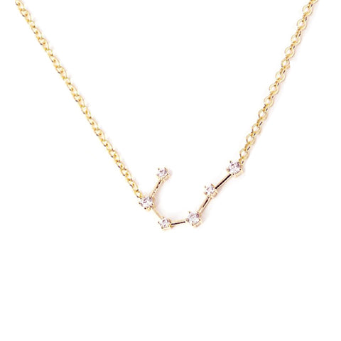 CANCER CELESTIAL ROSE GOLD NECKLACE - Statelight