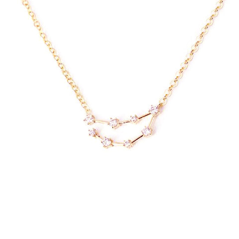 CAPRICORN CELESTIAL ROSE GOLD NECKLACE - Statelight