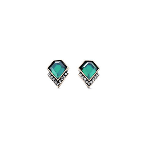 VERENA EMERALD EARRINGS - Statelight