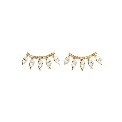 ARIANA GOLD EAR CUFFS in 925 Silver - Statelight