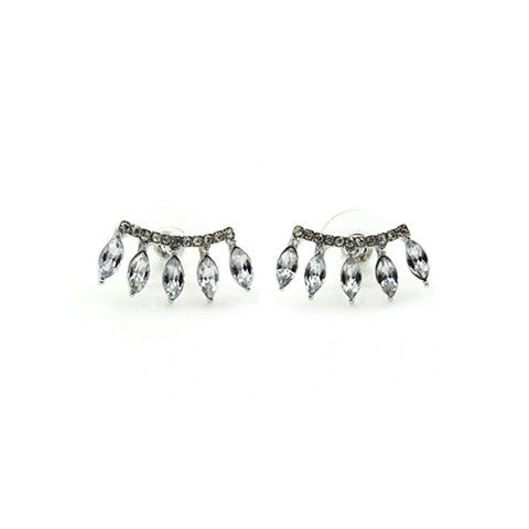 ARIANA SILVER EAR CUFFS in 925 Silver - Statelight