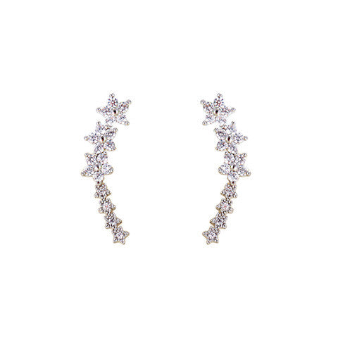 METEOR SHOWER EAR CUFFS in 925 Silver - Statelight