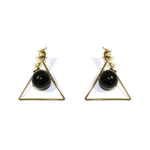 BILLIE ZIGZAG EARRINGS - Statelight