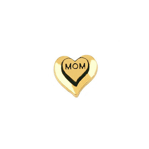 GOLD MOM HEART CHARM - Statelight