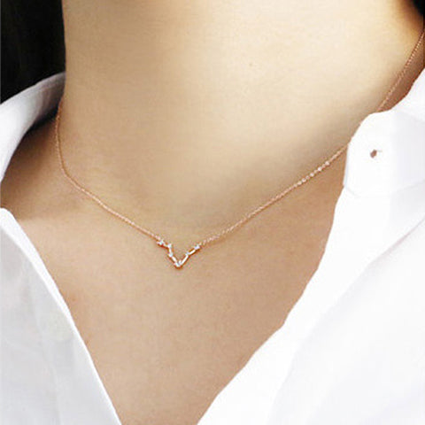 LIBRA CELESTIAL ROSE GOLD NECKLACE - Statelight