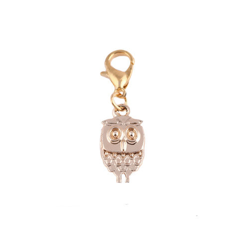 WISE OWL GOLD DANGLE - Statelight