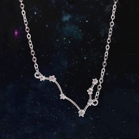 GEMINI CELESTIAL NECKLACE in 925 Silver - Statelight