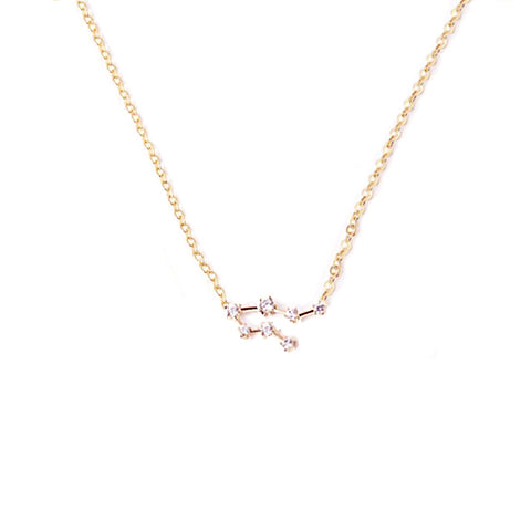 GEMINI CELESTIAL ROSE GOLD NECKLACE - Statelight