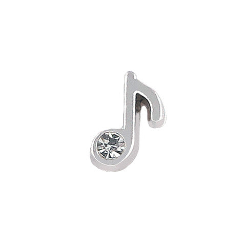 SILVER MUSIC NOTE CHARM - Statelight