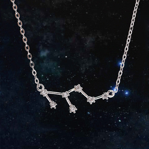 LEO CELESTIAL NECKLACE in 925 Silver - Statelight
