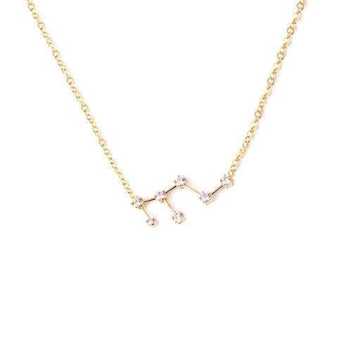 LEO CELESTIAL ROSE GOLD NECKLACE - Statelight