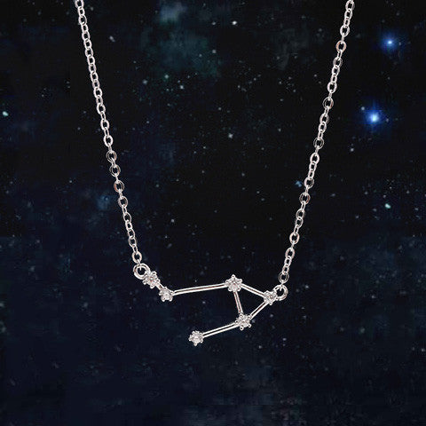 LIBRA CELESTIAL NECKLACE in 925 Silver - Statelight