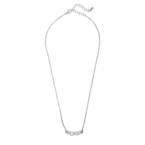 AMELIE DAINTY CLOUD SILVER NECKLACE - Statelight