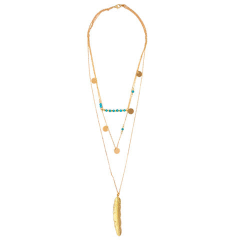 TALITHA LAYERED NECKLACE - Statelight