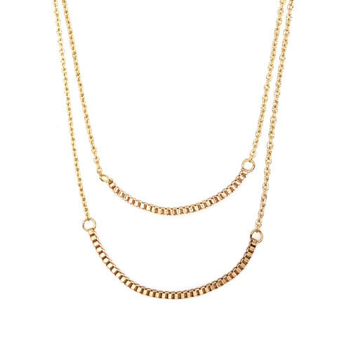 HAYLEY LAYERED NECKLACE - Statelight
