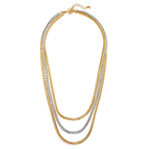 KATY BRAIDED CHAIN NECKLACE - Statelight