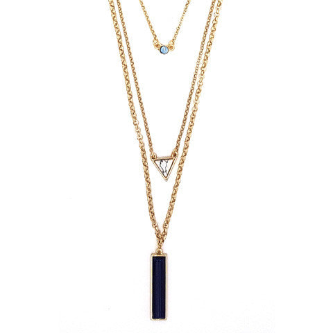 LEIGHTON TIERED NECKLACE - Statelight