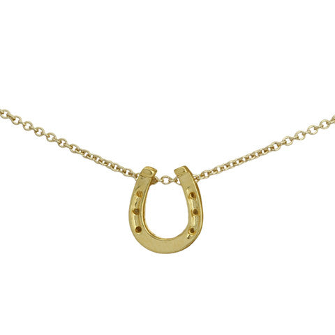 CHARMED HORSESHOE NECKLACE - Statelight