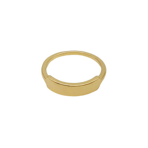 ORIANA GOLD BAR RING - Statelight
