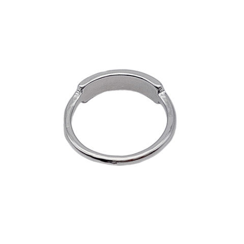 ORIANA SILVER BAR RING - Statelight