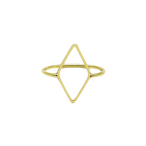 BEXLEY GOLD GEOMETRIC RING - Statelight