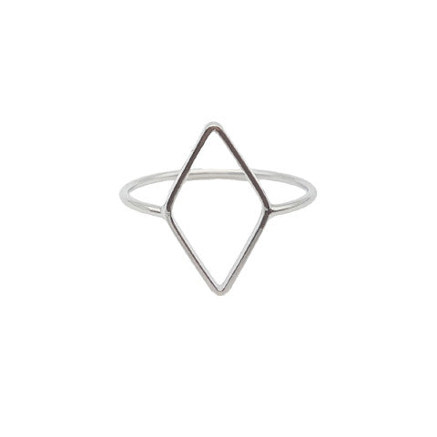 BEXLEY SILVER GEOMETRIC RING - Statelight
