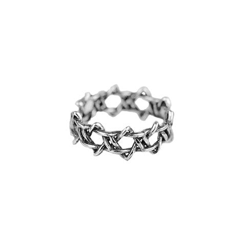 KARLIE KNOTTED RING in 925 Silver - Statelight
