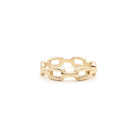 ELOISE GOLD CHAIN RING - Statelight