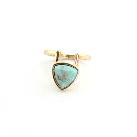 DANICA BLUE MARBLE RING - Statelight